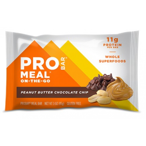 Pack 12 Unidades - Barra Meal Peanut Butter Chocolate Chip (50% Descuento)
