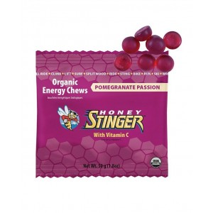 "Pack Honey Stinger ""CHEWS Energeticos"" sabor Pomegranate-Passion fruit"