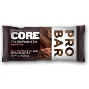 3 x Probar BASE protein bar 20g sabor Chocolate Bliss con Cafeina